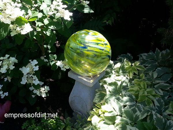 Garden Balls Decorative Garden Ball Idea Gallery  Garden Art Tutorials And Creative