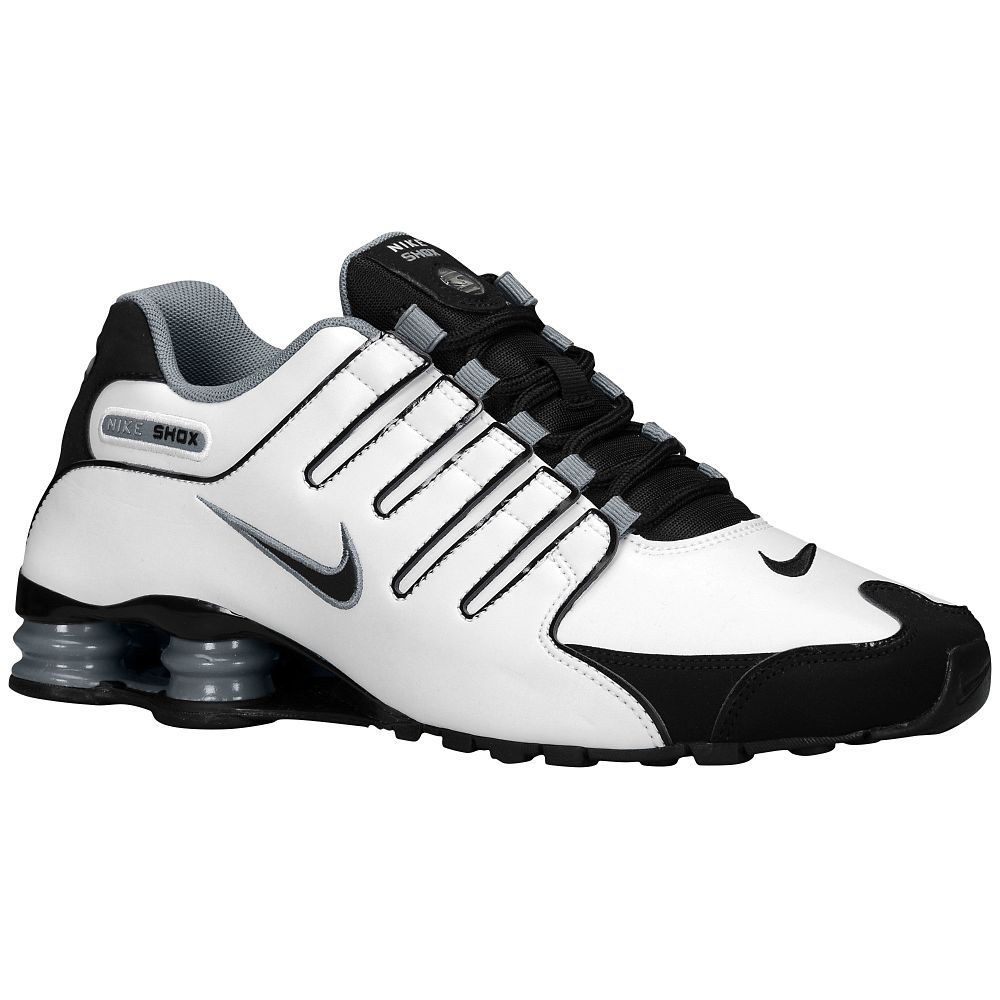 Nike Shox NZ - Men s - Running - Shoes - White University Red Black ... 6138b5e4c