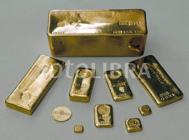 400 Troy Ounce Gold Bar With 50 Oz 1 Kilo 20 Oz 10 Oz