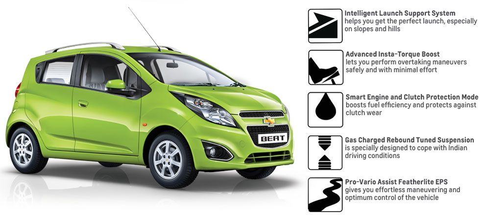 Chevrolet Beat India Fuel Efficient Cars Chevrolet Fuel Efficient