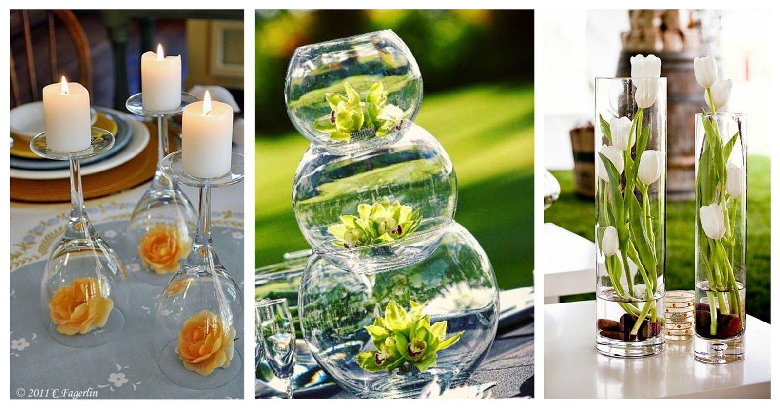Simple wine bottle centerpieces wine glasses pinterest for Wine glass decorations for weddings
