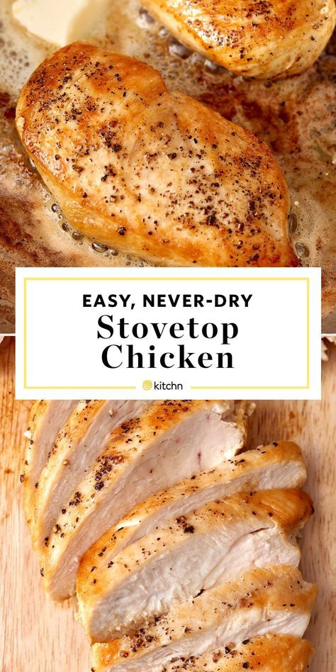 How To Cook Golden, Juicy Chicken Breast on the Stove