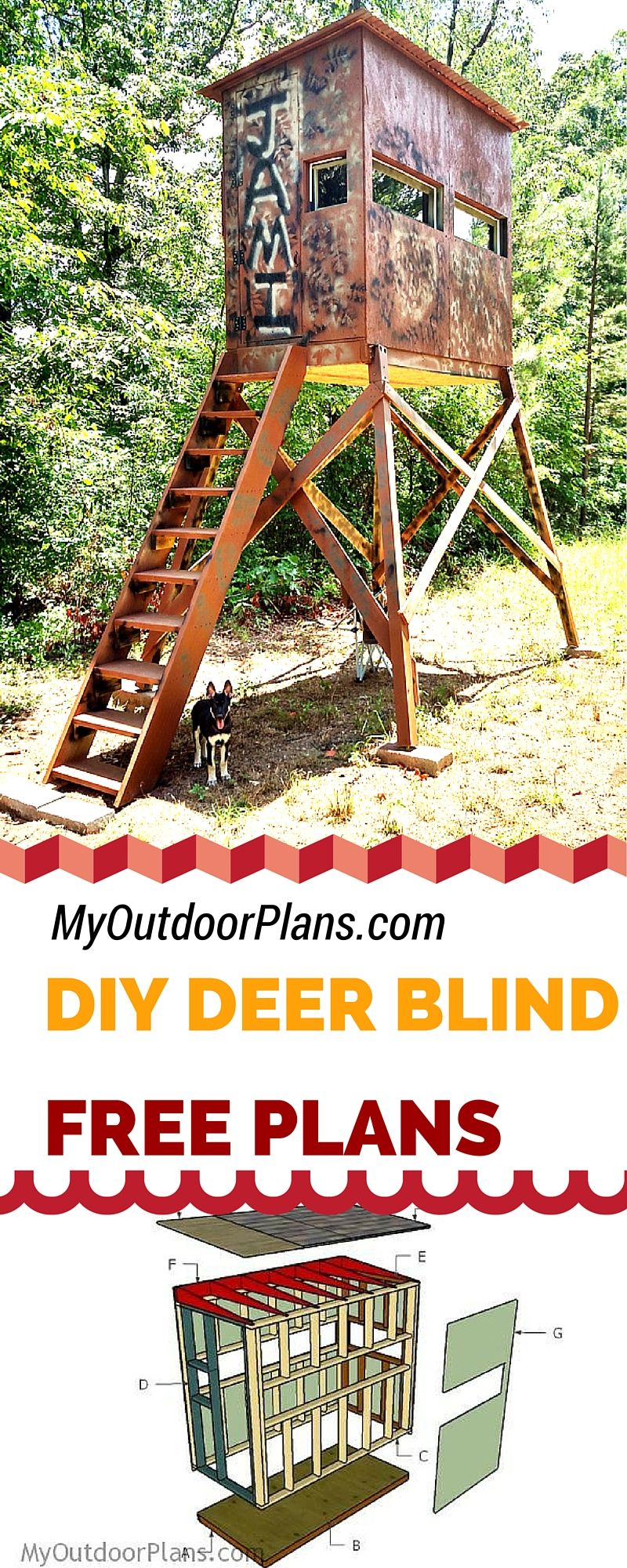 free deer shooting blind plans for your to learn how to build one