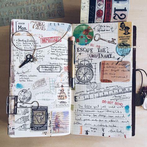 Gut gemocht Carnets de voyage | Sakarton | DIY ♡ | Pinterest | Carnets  VC36
