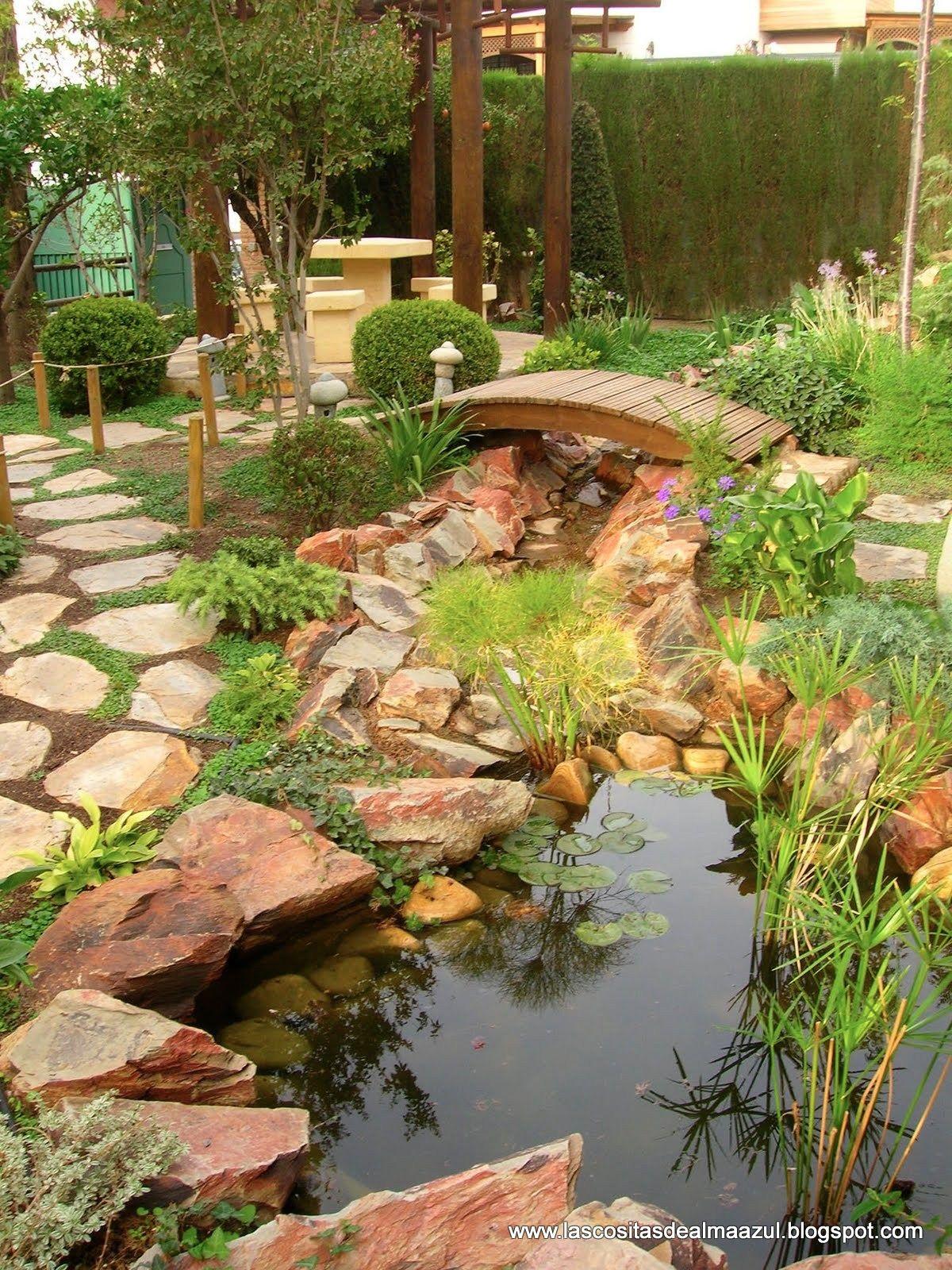 El puente de madera una obra de arte mis dise os de for Diseno de jardines para el hogar