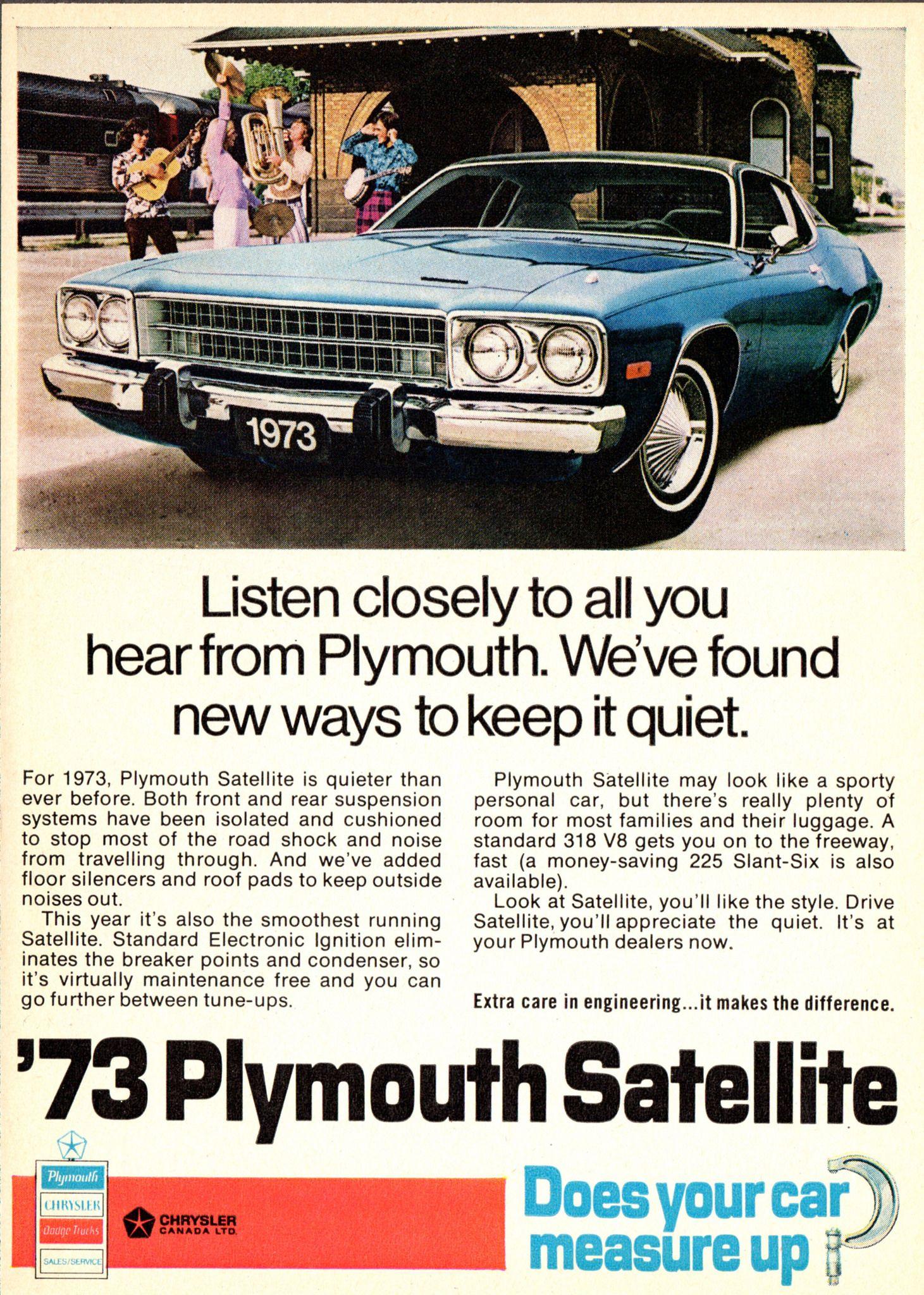 73 Satellite : satellite, Plymouth, Satellite, (Canada), Felix, Satellite,, Plymouth,, Satellites
