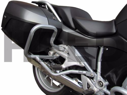 Rear Engine Guard Crash Bars Heed Bmw R 1200 Rt 2014 Silver Rear