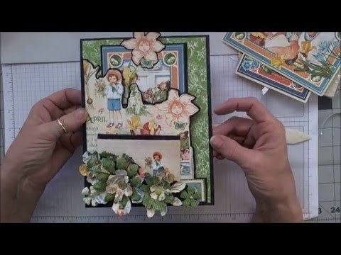 You and Me Making a Mini - VIDEO 2 APRIL Graphic 45\u0027s Children\u0027s