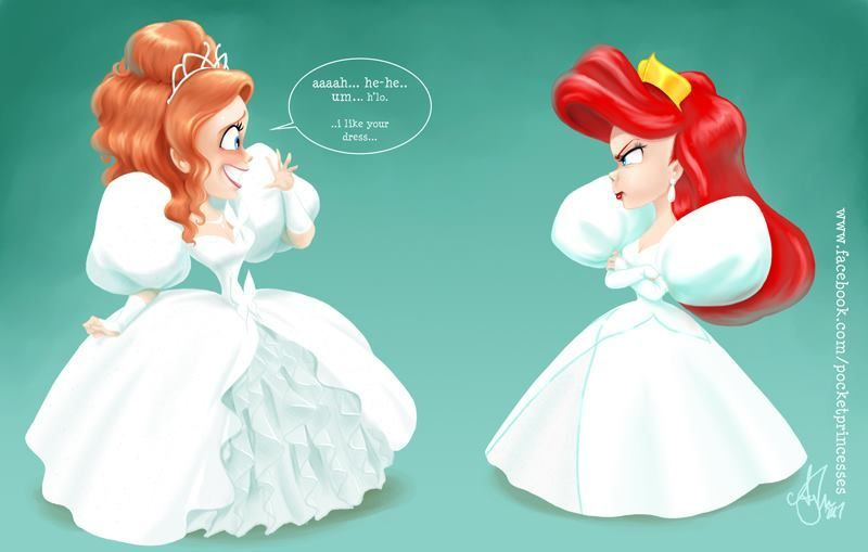 What If The Disney Princesses All Lived Together?   Pocket ...