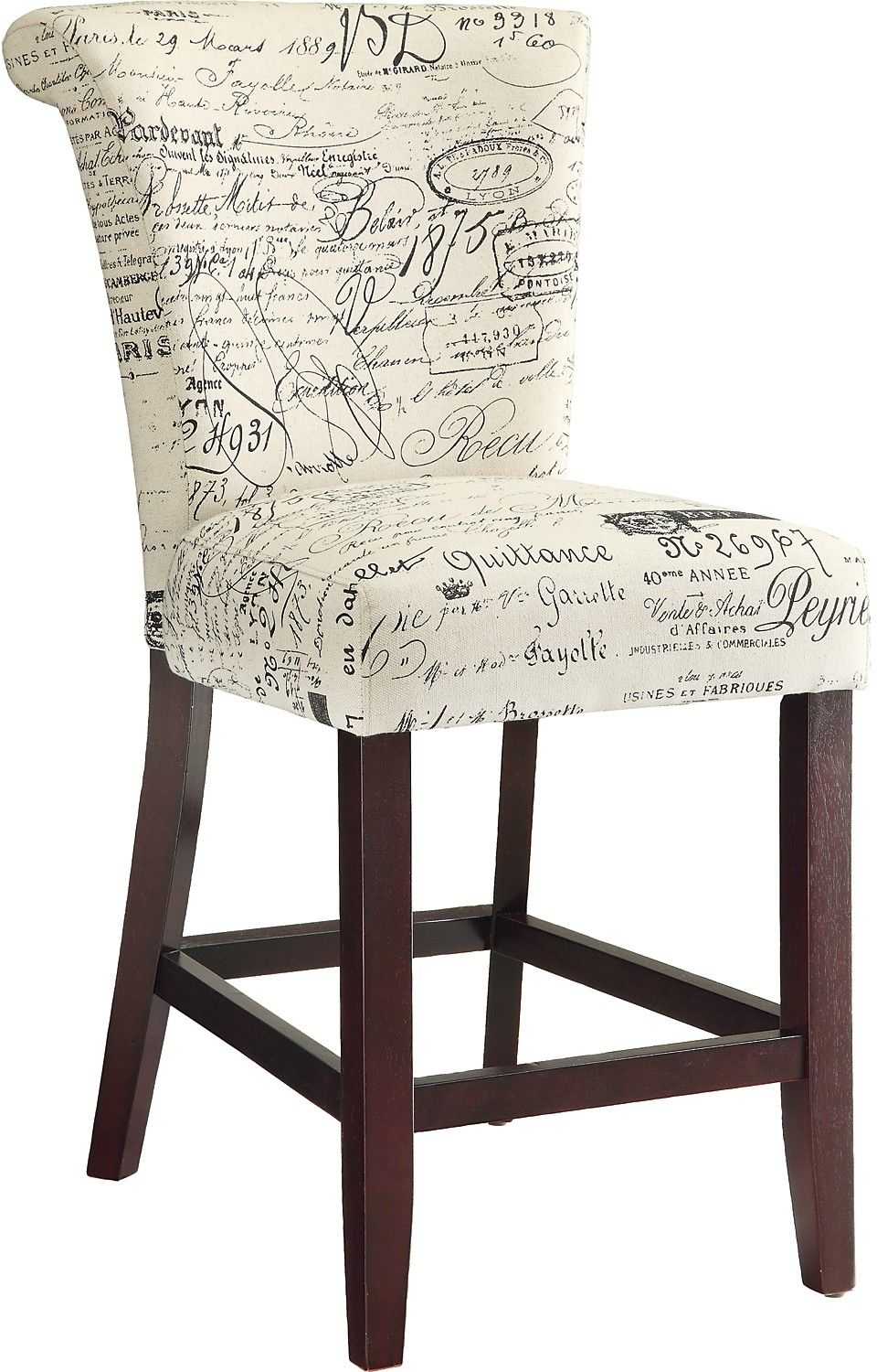 Script Counter Height Chair Counter Height Chairs Durable