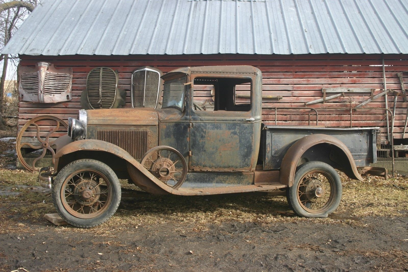 1931 Ford Model A Pickup Truck Taste That Patina