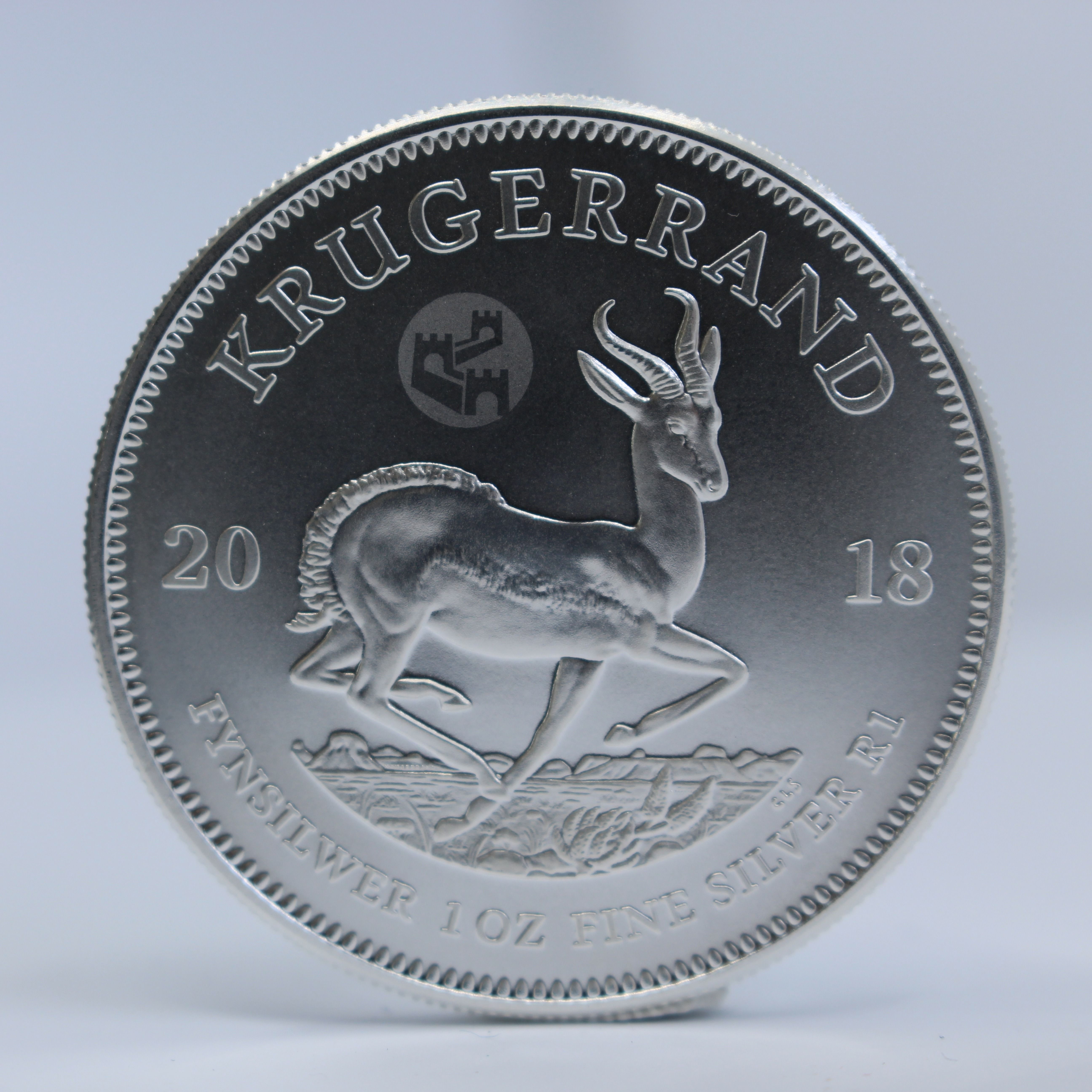 2019 1 Oz South Africa Krugerrand 999 Silver Proof Coin Proof Coins Coins Silver Krugerrand