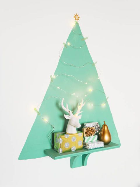 8 Holiday Decorating Ideas For Small Spaces Chalkboard walls - how to decorate a small christmas tree