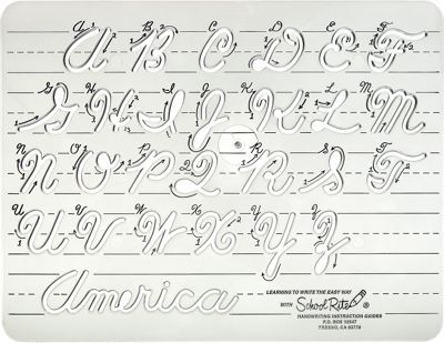 Cursive Handwriting Instruction Guide This easy-to-use - instructional manual