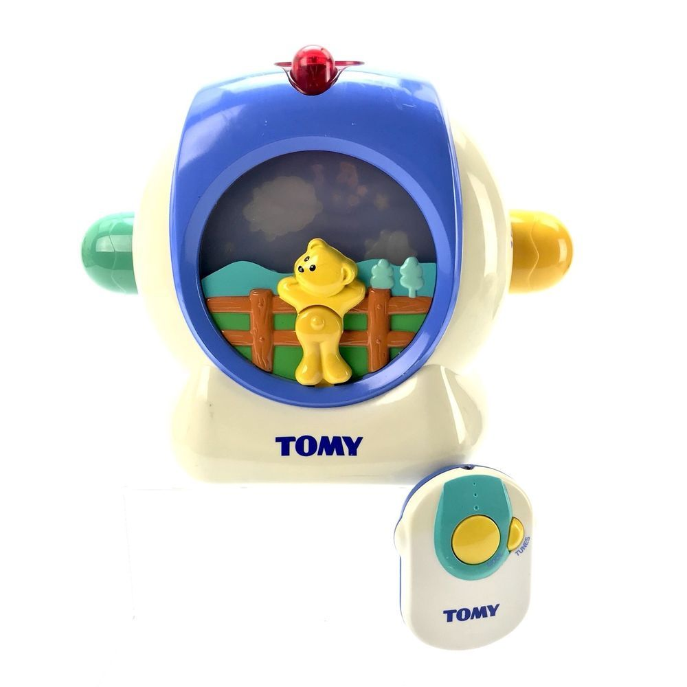Baby Tomy Irc Lullaby Dream Show Projector Remote Control Lights Lullabies Cot