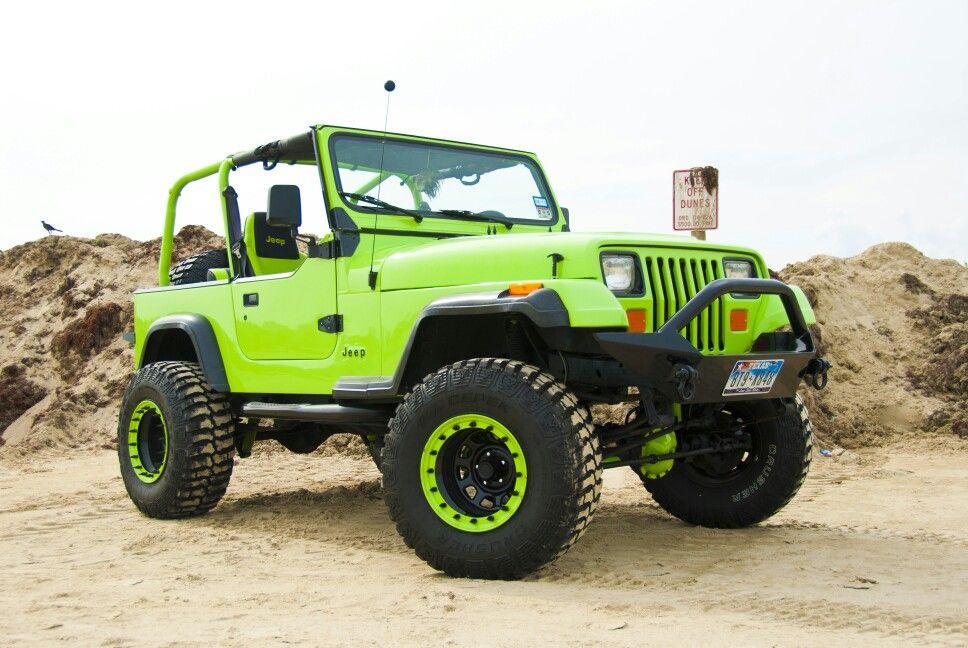1991 Jeep Wrangler Yj Jeep Wrangler Yj Jeep Yj Green Jeep