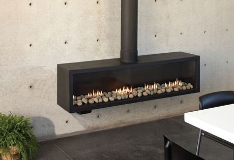Wall Mounted Gas Furnace Fireplace | Ortal Modern Gas Stoves And Fireplaces  | Appliancist