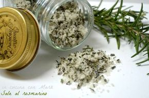 Photo of Homemade Rosemary Salt in the kitchen with Mara