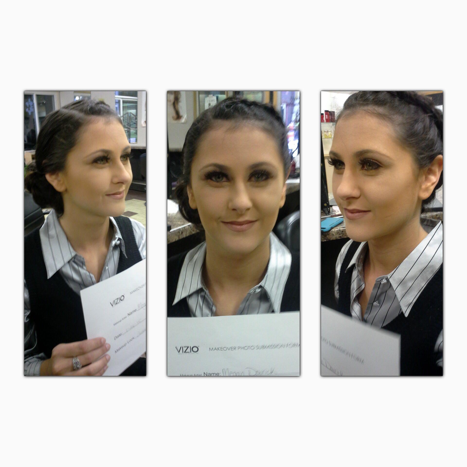 Megan Makeup Assignment Student, Vizio, Makeup