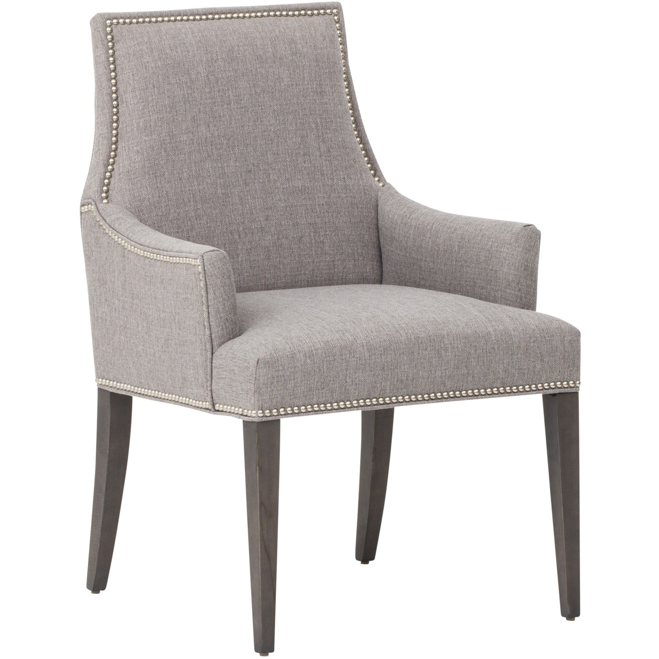 oliver arm chair, durango slate - chairs & benches - dining