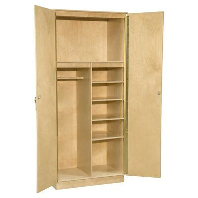 Best Wood Designs Contender Mobile Wardrobe Armoire Size 84 H 640 x 480