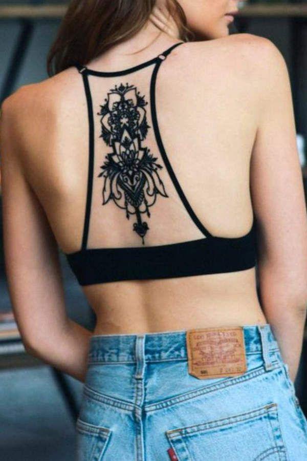 c09a88da1cf37 Leto Black Tattoo Bralette