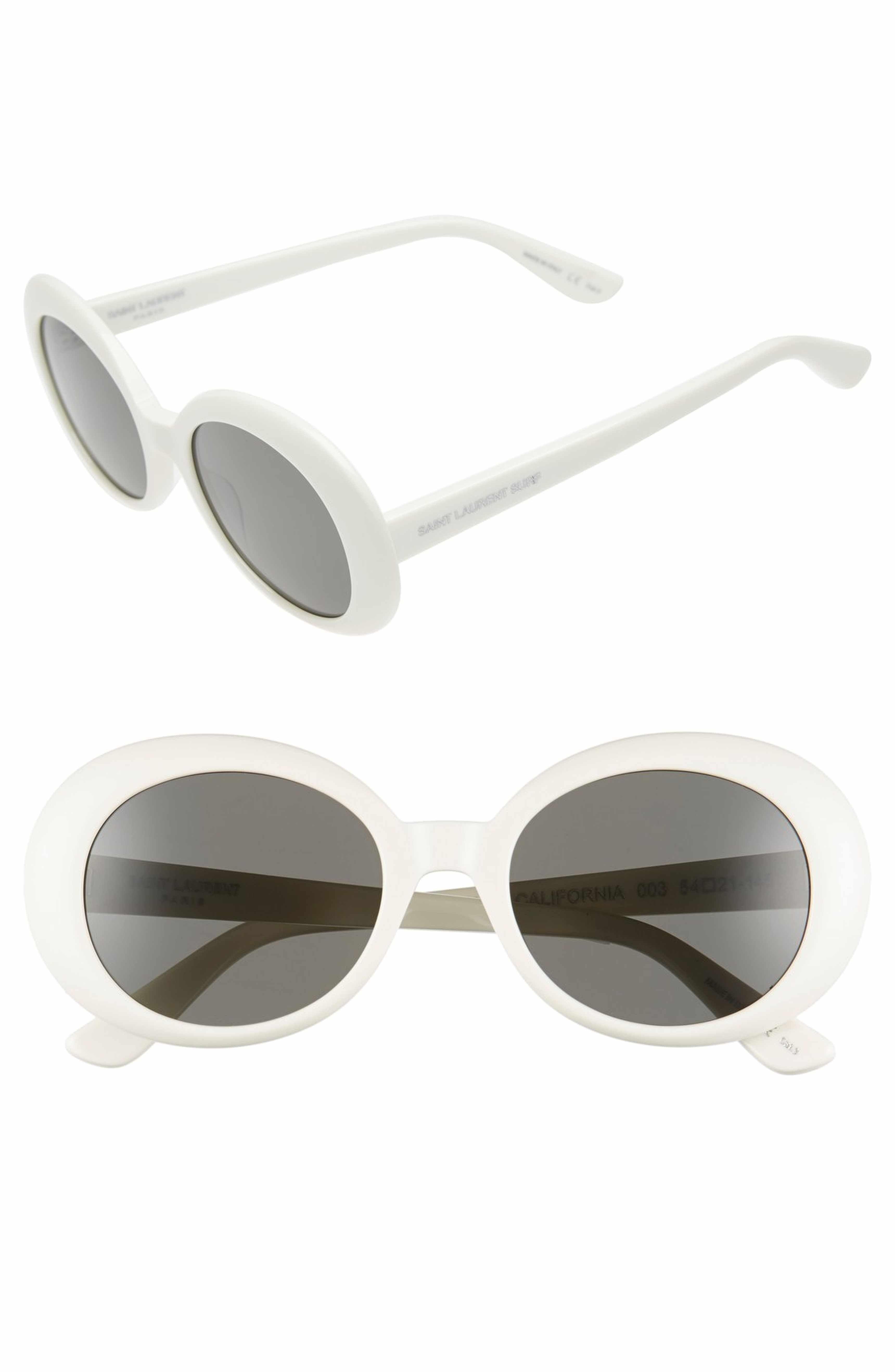 6ef37b7c310 50mm Oval Sunglasses