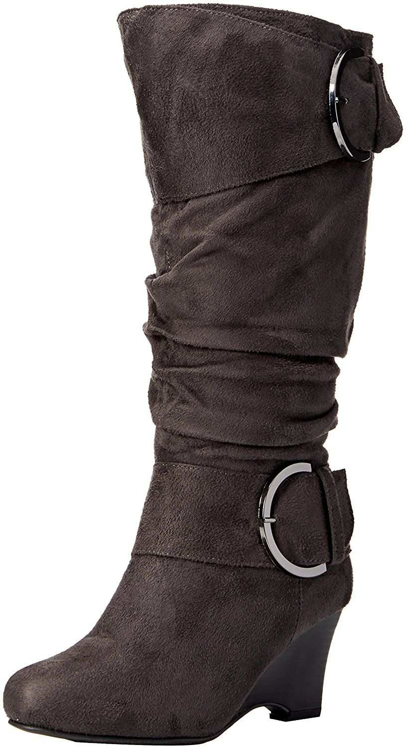 a4cdd5dd1ee9 Brinley Co Women s Melbourne 05 Slouch Boot Regular Wide Calf     This is an