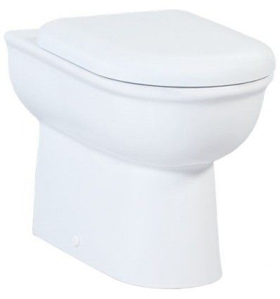 Creavit Selin Combined Bidet Back To Wall Toilet All In One With