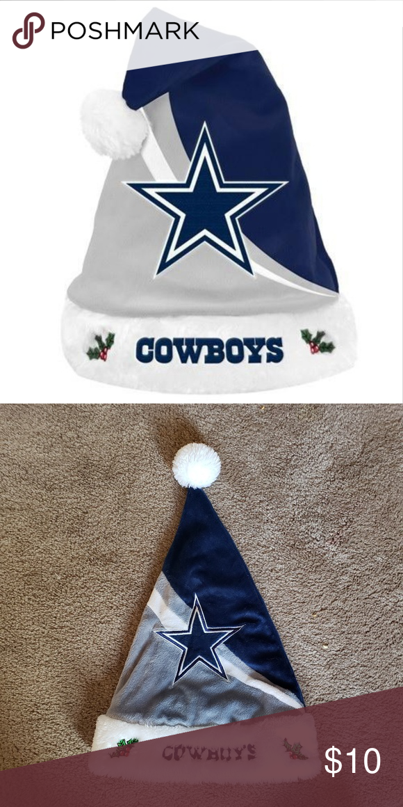 0ccfd8b482e 🎄NFL Football Swoop Logo Santa Hat Dallas Cowboys Cheer on your favorite  football team this