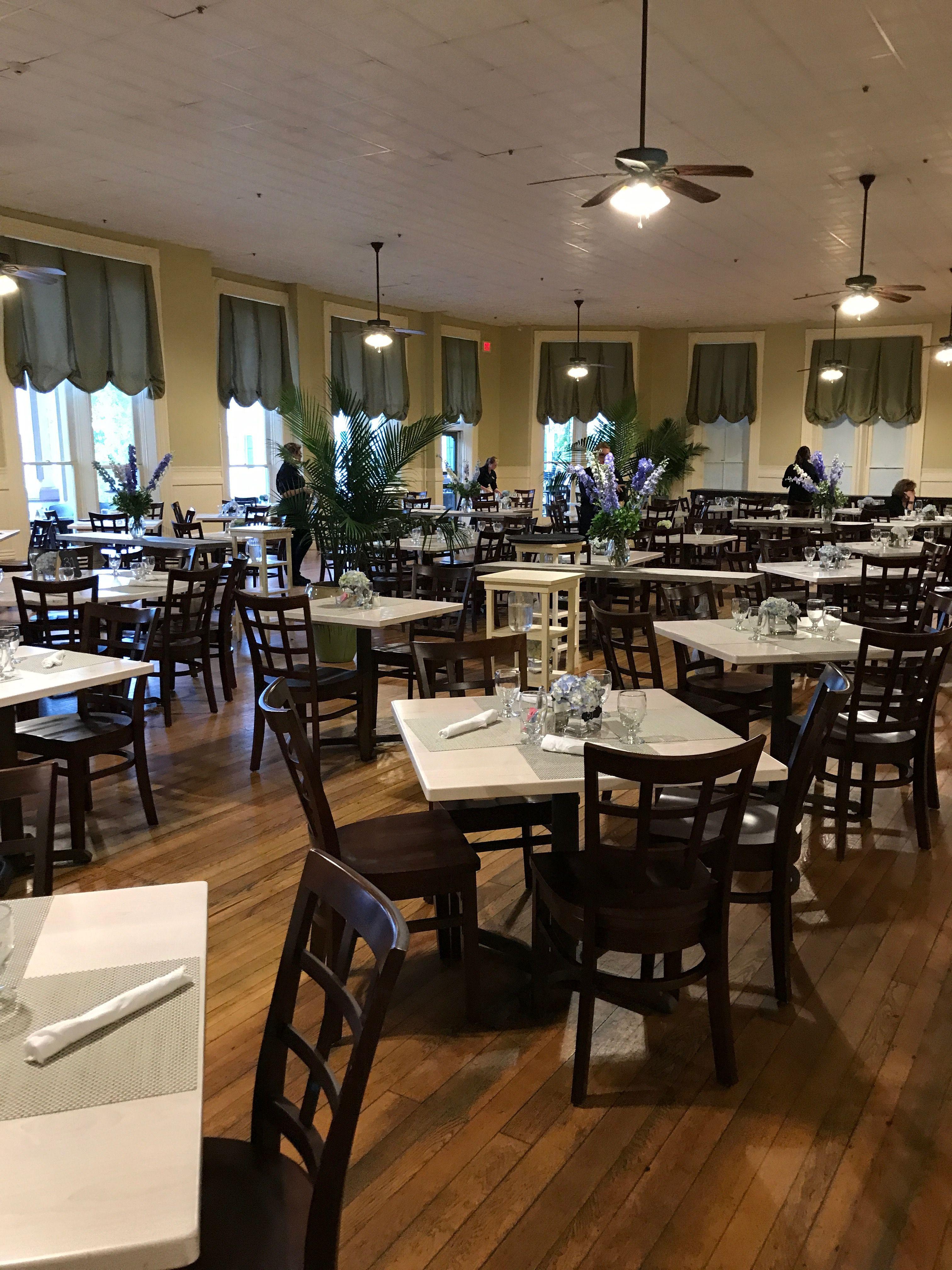 Dining Room At The Athenaeum Hotel Chautauqua Insution