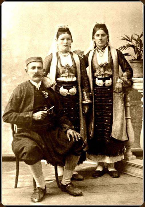 Serbian  traditional costume  from Eastern Herzegovina