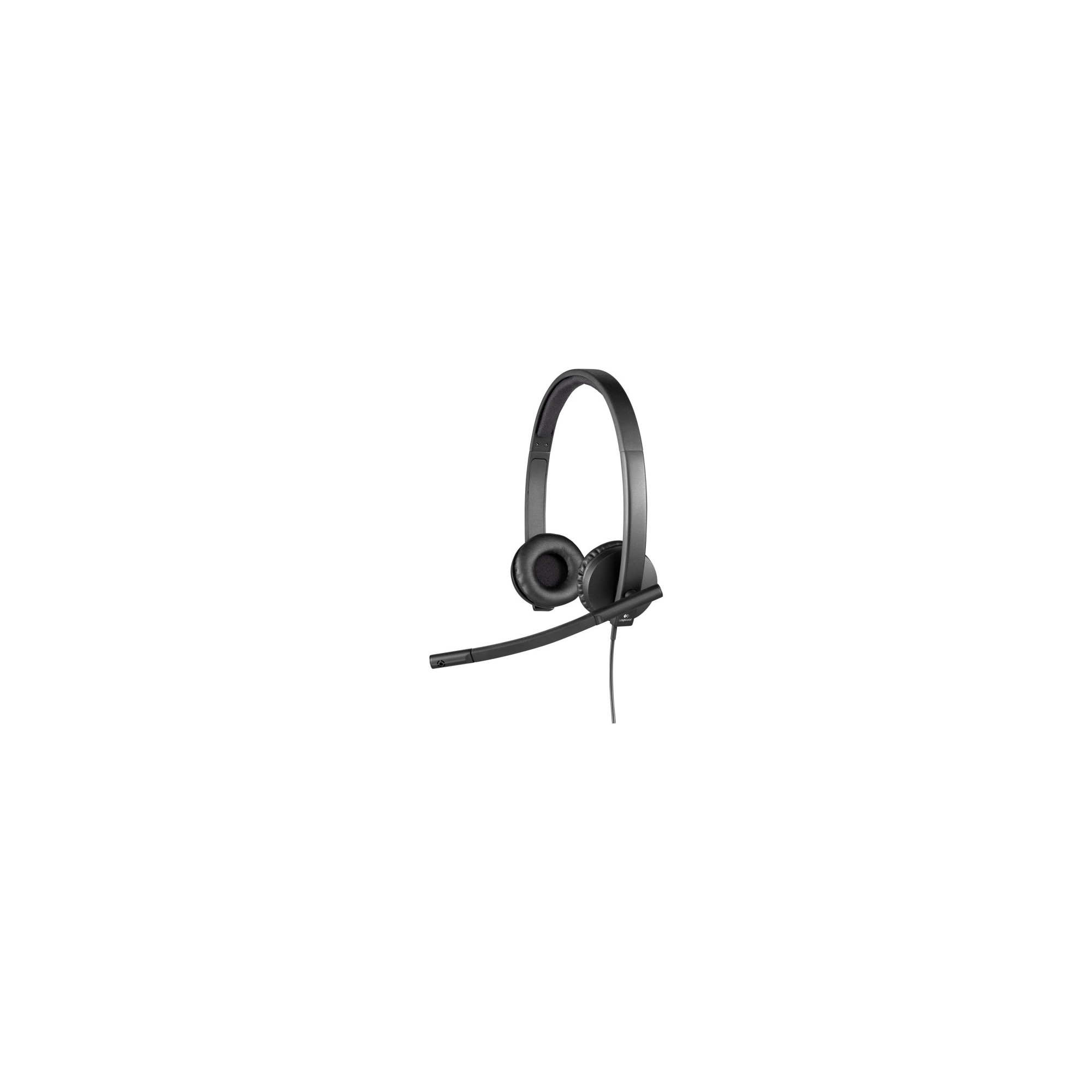 c9d1c2e5718 Logitech Usb Headset Stereo H650e - Stereo - Usb - Wired - 50 Hz - 10 kHz -  Over-the-head - Binaural - Supra-aural - Noise Cancelling Microphone