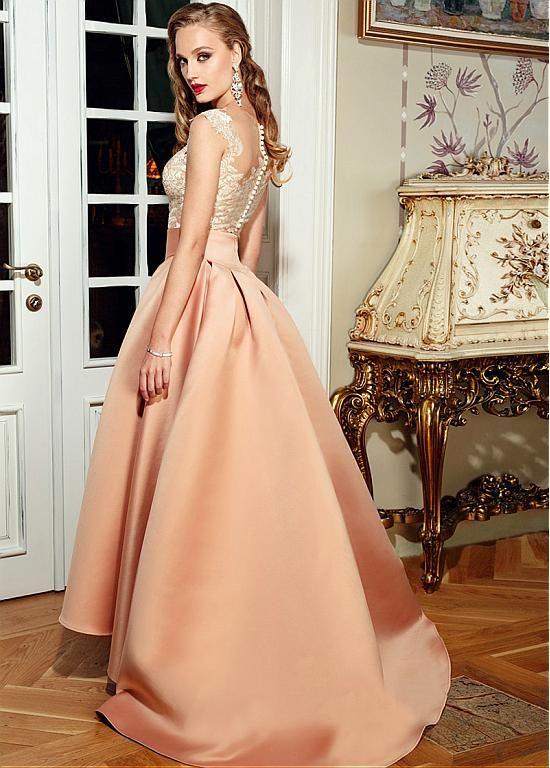 024a6b47956 Acheter Tulle mode et satin Décolleté A-Bateau ligne Robes de mariée avec  appliques de dentelle pas cher chez Laurenbridal.com