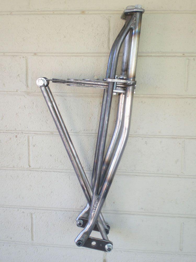 """26/"""" Bicycle Beach Cruisers Steel Fork 1/"""" Threaded Chrome Chopper Trike Bike"""
