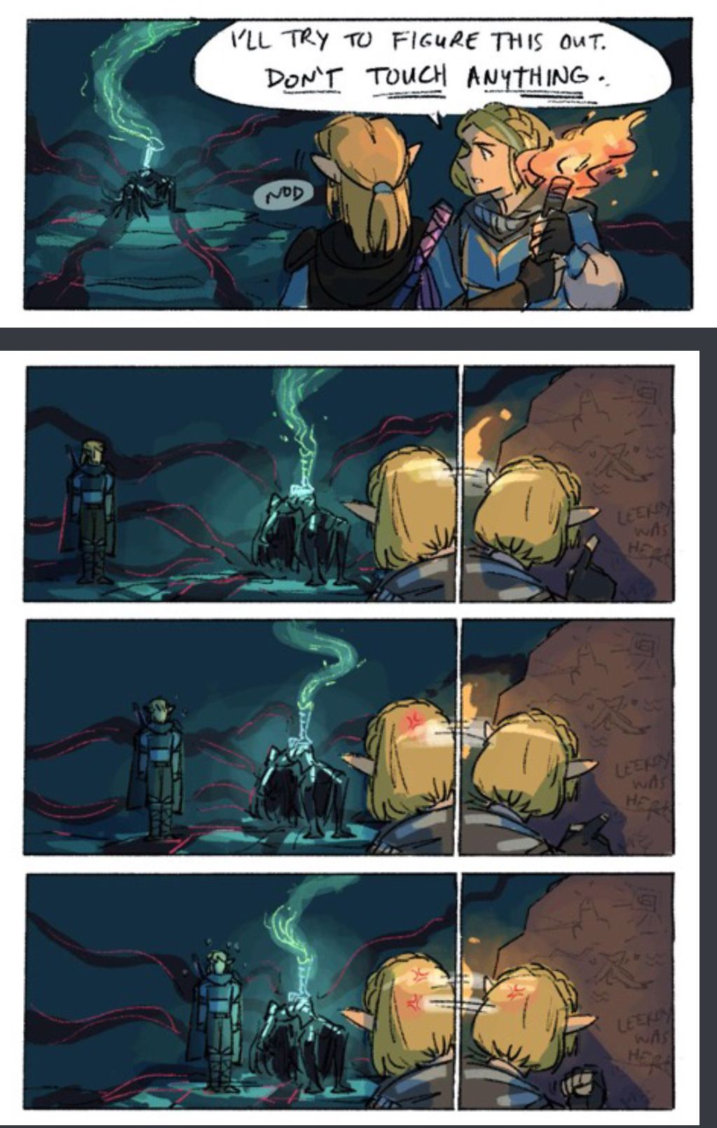 Part 1 Link Deserved It Link Zelda Ganon The Sequel To