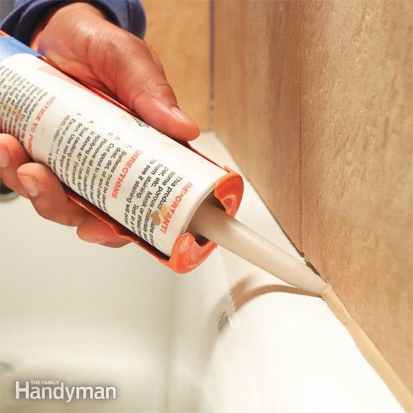Bathtub Caulking Tips Caulking Tips Bathroom Repair Bathtub Caulking
