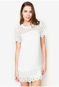 13ff629fcc5862 ZALORA Lace Shift Dress  onlineshop  onlineshopping  lazadaphilippines   lazada  zaloraphilippines  zalora