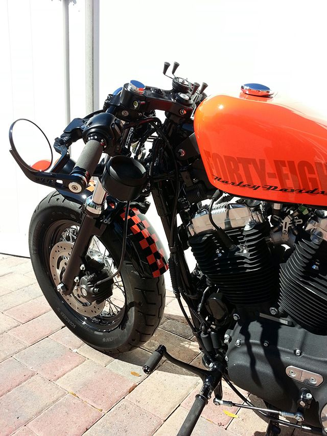 sportster license plate relocation kit - Google Search