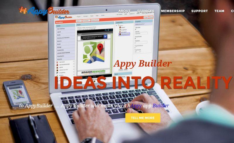 Appy Builder Nueva Plataforma Web Para Crear Gratis Apps Android Sin Programar Android Apps App Inventor