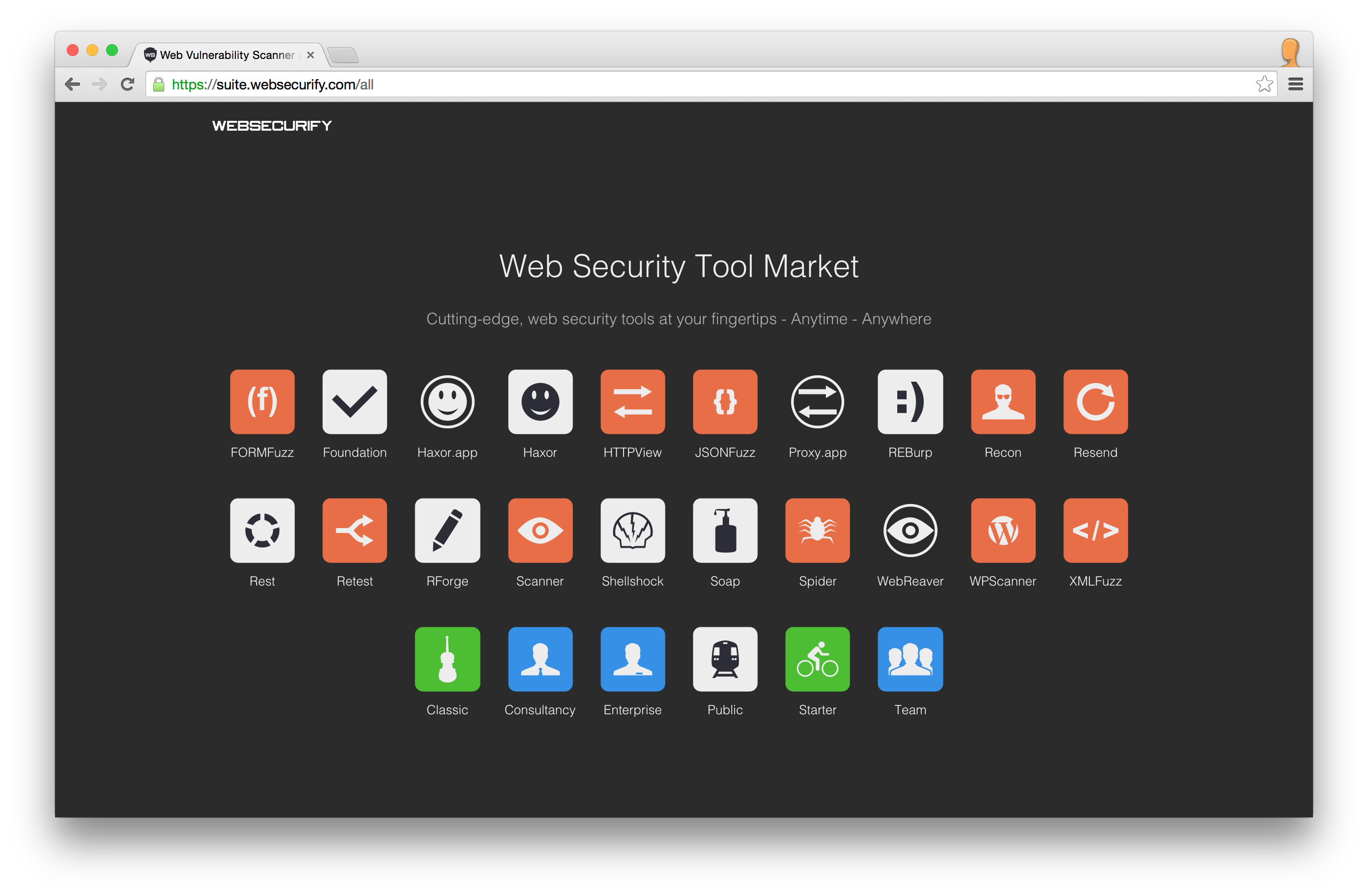 Test web applications for many security aspects | Web