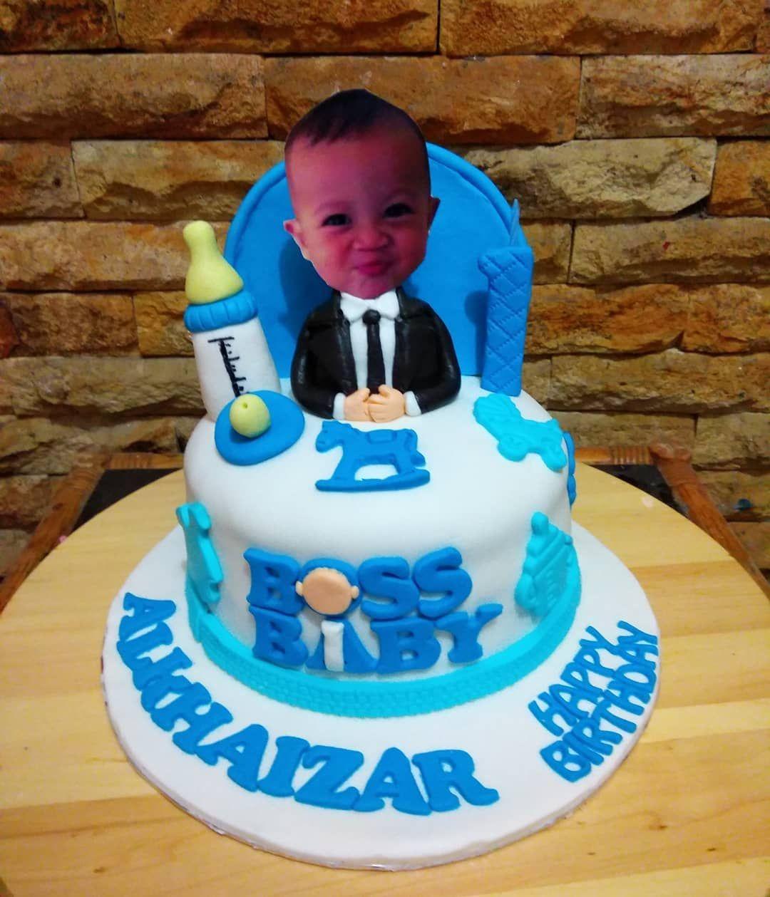 Boss Baby D Cupcake Cupcakebandung Cupcakelucu