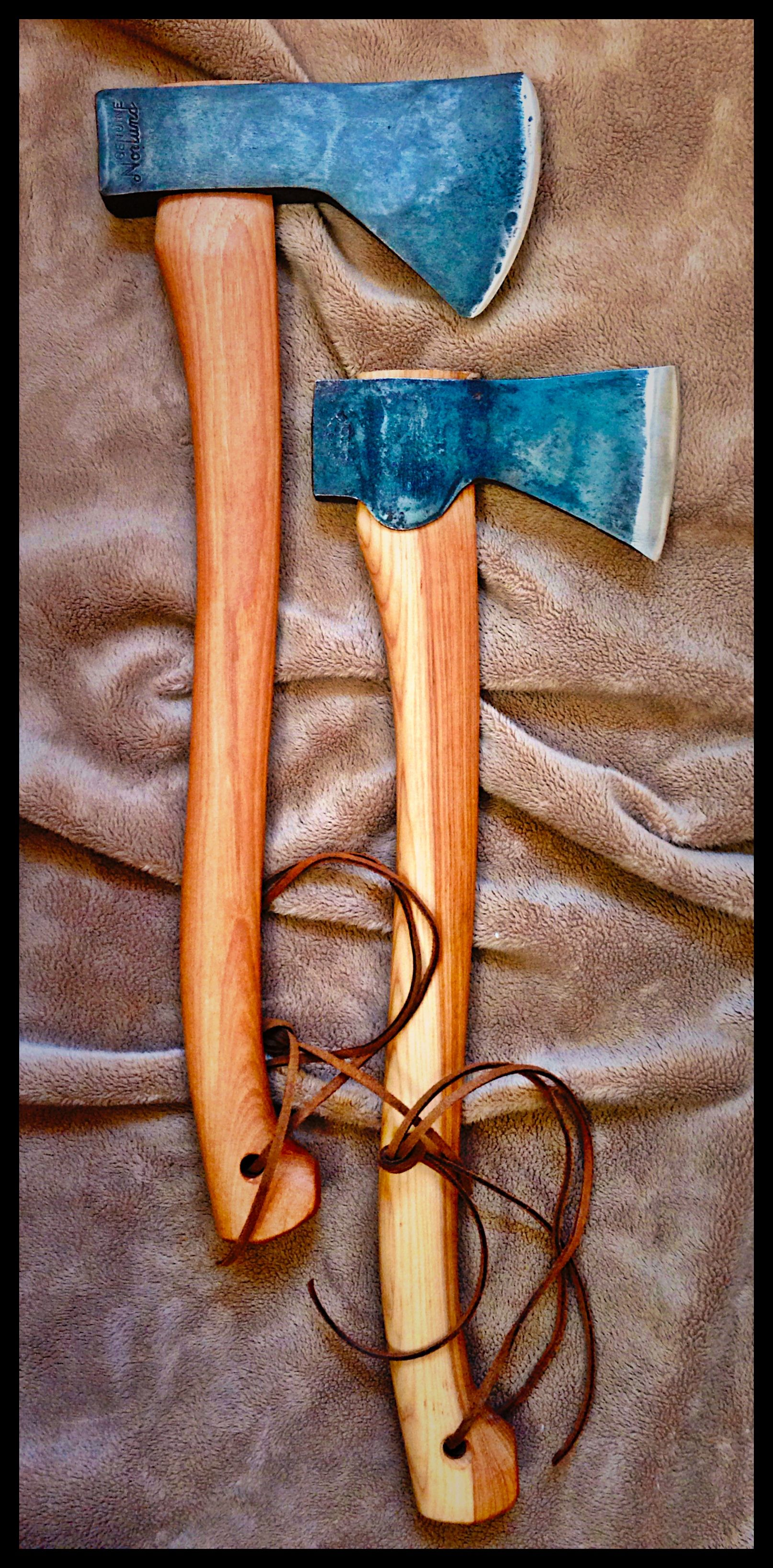 Vintage Norlund Tomahawk And Gransfors Bruk Small Forest