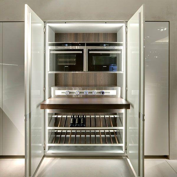Icon Kitchen by Ernestomeda  Case  Cocinas Muebles e Hogar