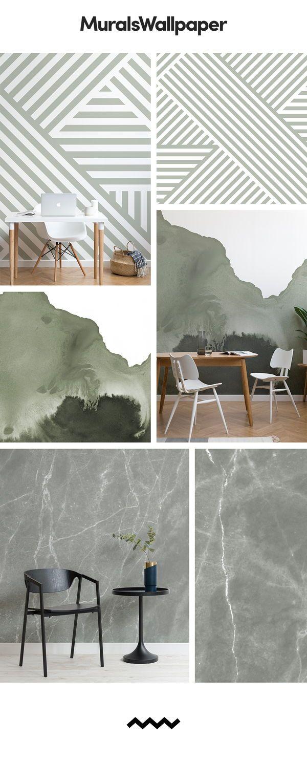 7 Sage Green Wallpapers To Create An Evergreen Interior Mu