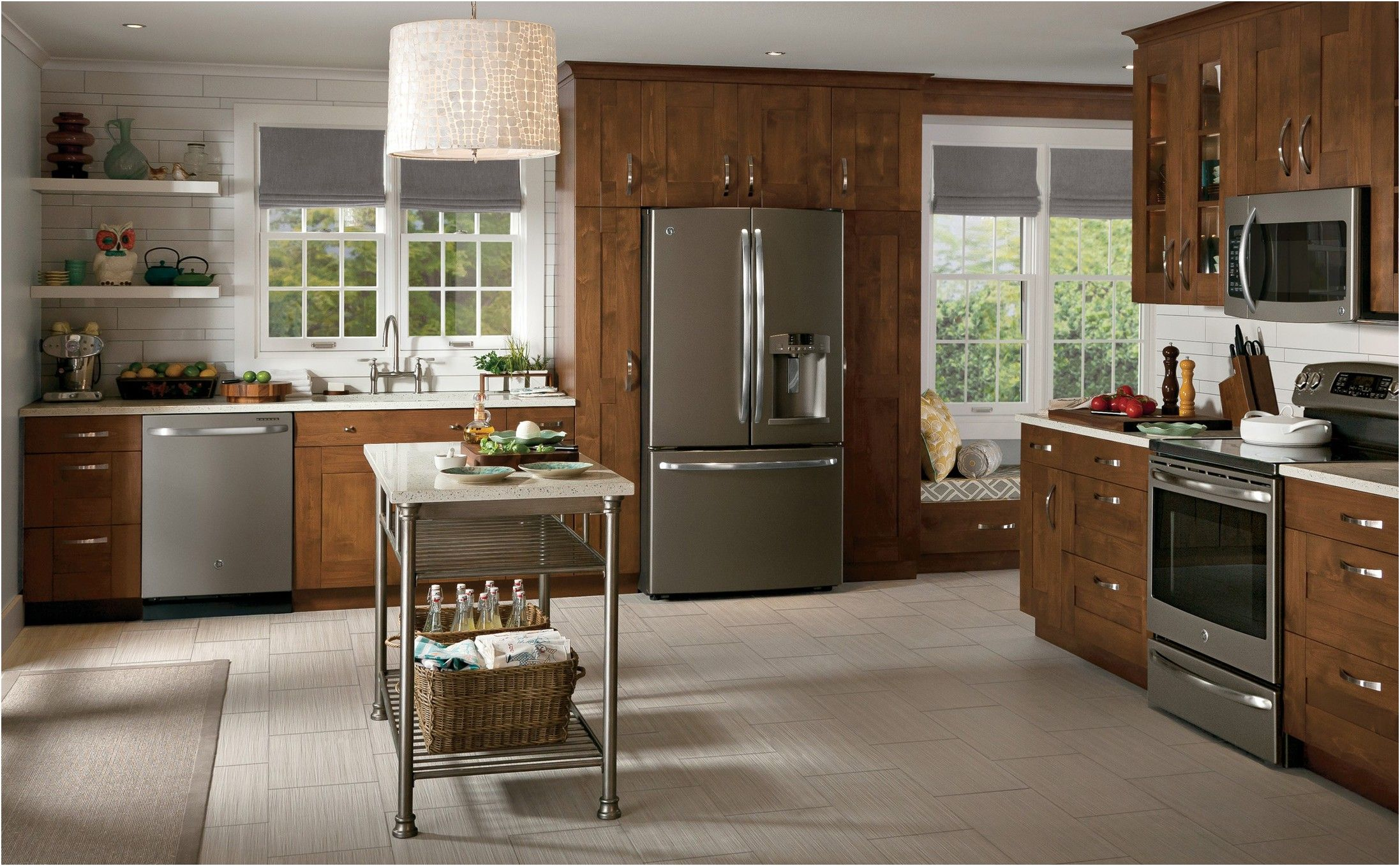 slate country kitchen photo design ge appliances from slate kitchen appliances on kitchen remodel appliances id=35352