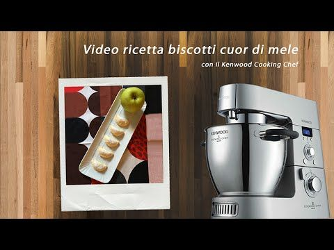 Video ricetta biscotti cuor di mela Kenwood | Kenwood Cooking Blog ...