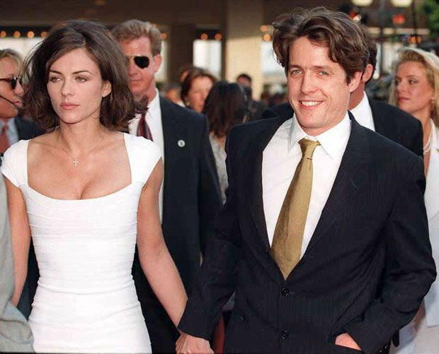 Hugh Grant His Life And Career In Pictures Elizabeth Hurley Young Elizabeth Hurley Elizabeth Hurley Hugh Grant