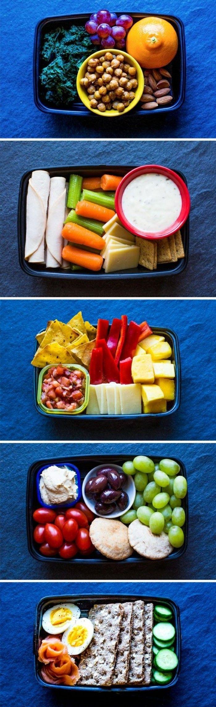 Top Manger sainement: 5 recettes légères pour préparer des repas  OT44