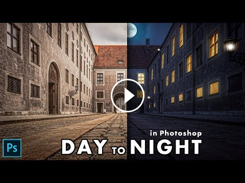 How to Turn Day into Night in alqadeerstudio